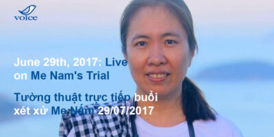 Reporting Live: The Trial of Mother Mushroom 29/06/2017