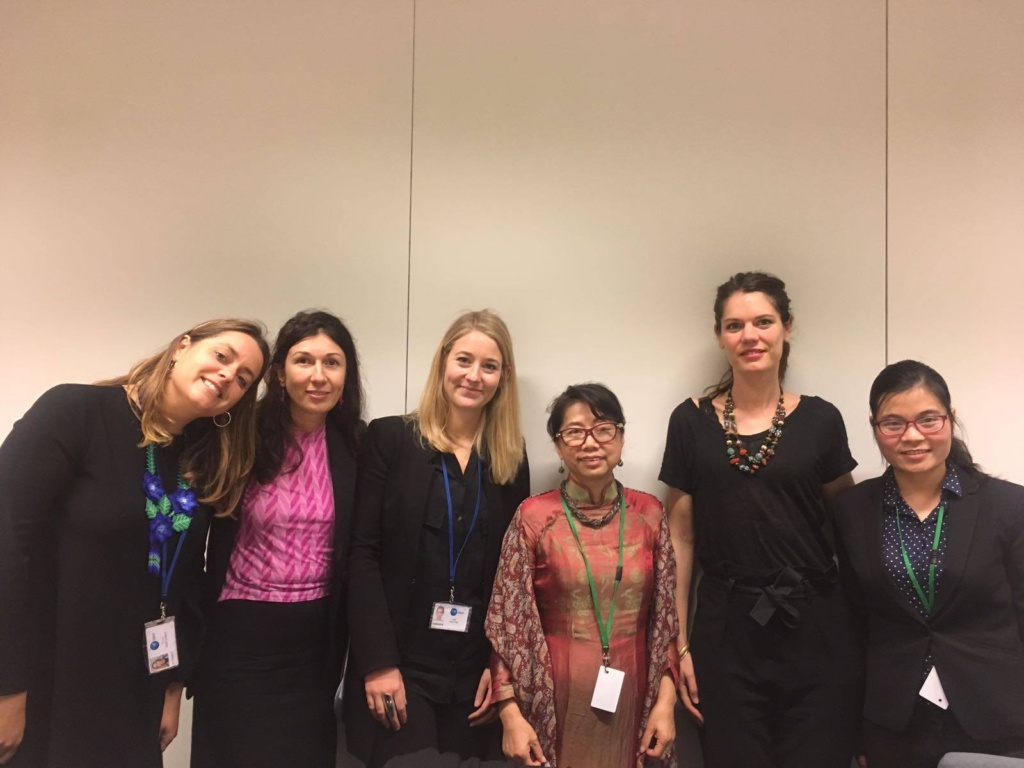 Toàn cảnh Chiến dịch Vận động Nhân quyền UPR năm 2017 - đại diện của Cơ quan Ngoại giao của Liên minh Châu Âu (EEAS)