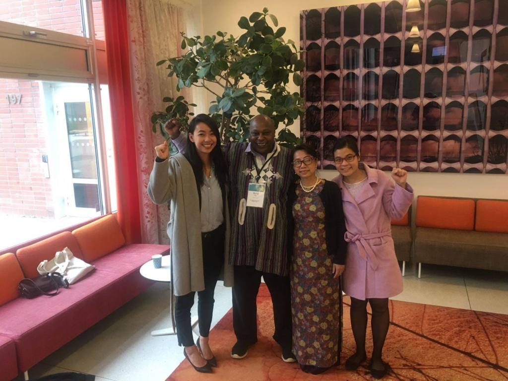 Toàn cảnh Chiến dịch Vận động Nhân quyền UPR năm 2017 - Maina Kiai, Báo cáo viên đặc biệt của LHQ về Quyền tự do hiệp hội và hội họp ôn hòa