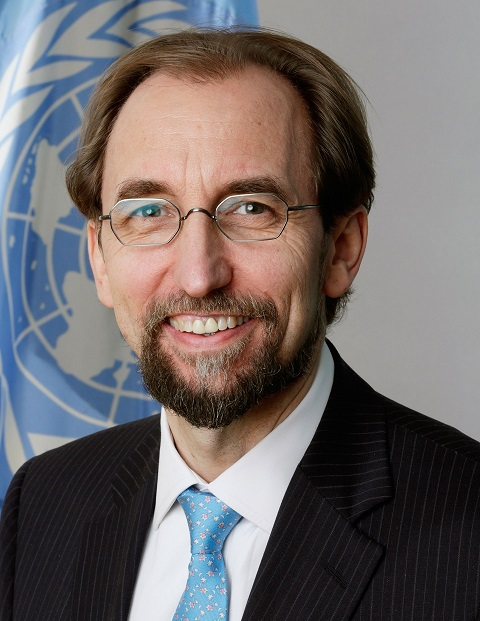 Ông Zeid bin Ra'ad, Trưởng Cao Ủy Nhân Quyền Liên Hiệp Quốc - VIETNAM VOICE