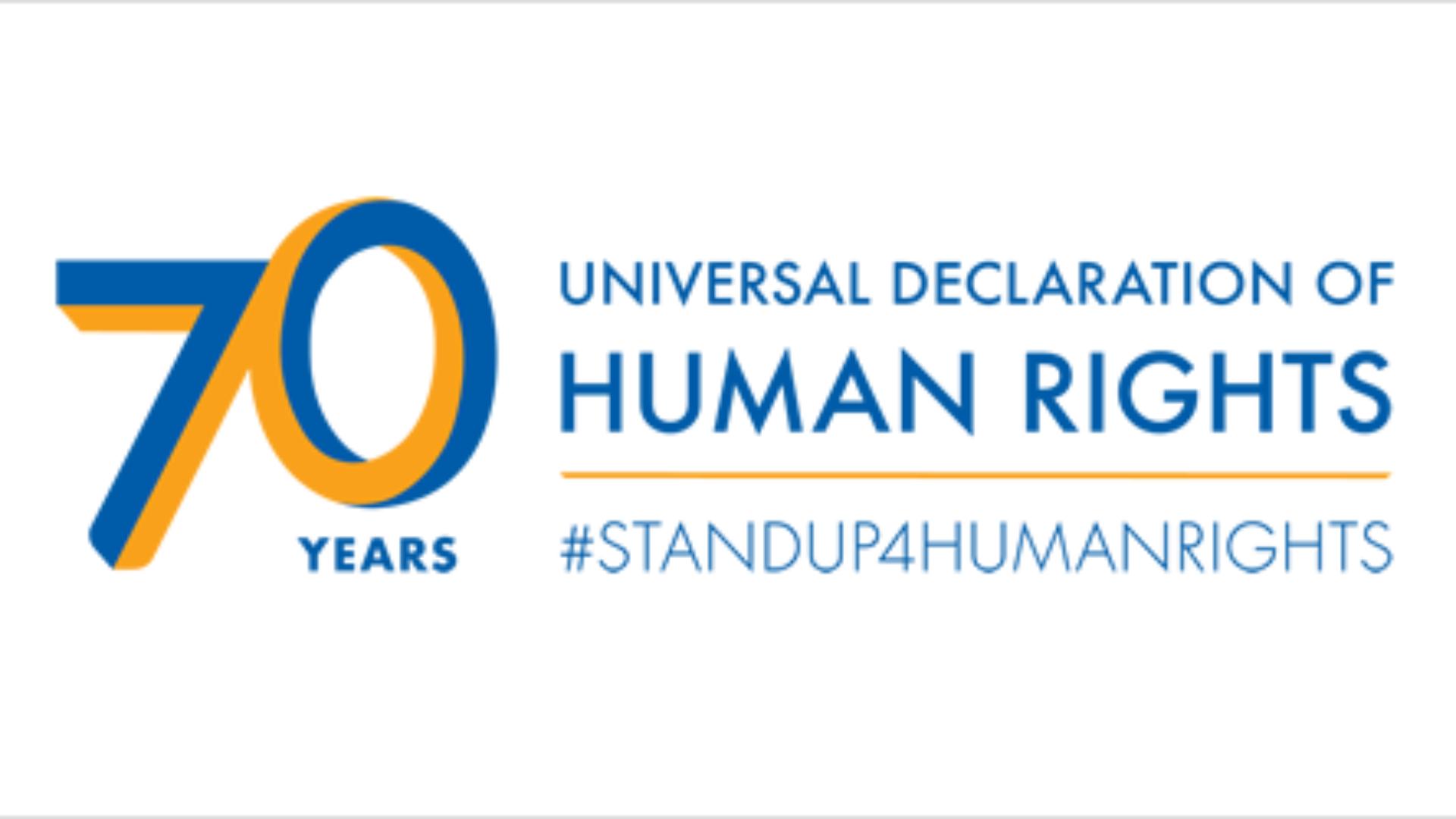 Liên Hiệp Quốc khởi động chiến dịch kỷ niệm 70 năm Ngày Quốc tế Nhân Quyền