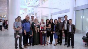 Gia đình Syria cuối cùng đã đến vùng đất an bình