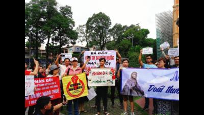 Tuyên bố về Dự luật Đặc khu, Luật An ninh mạng và việc chính quyền đàn áp người biểu tình