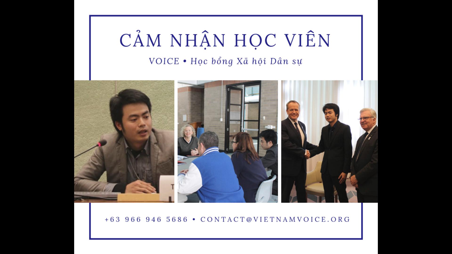 Nguyễn Anh Tuấn: Phần lớn tôi ngày nay được hình thành từ VOICE