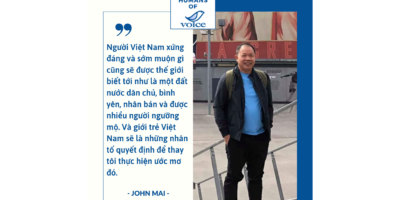 Humans of VOICE: John Mai