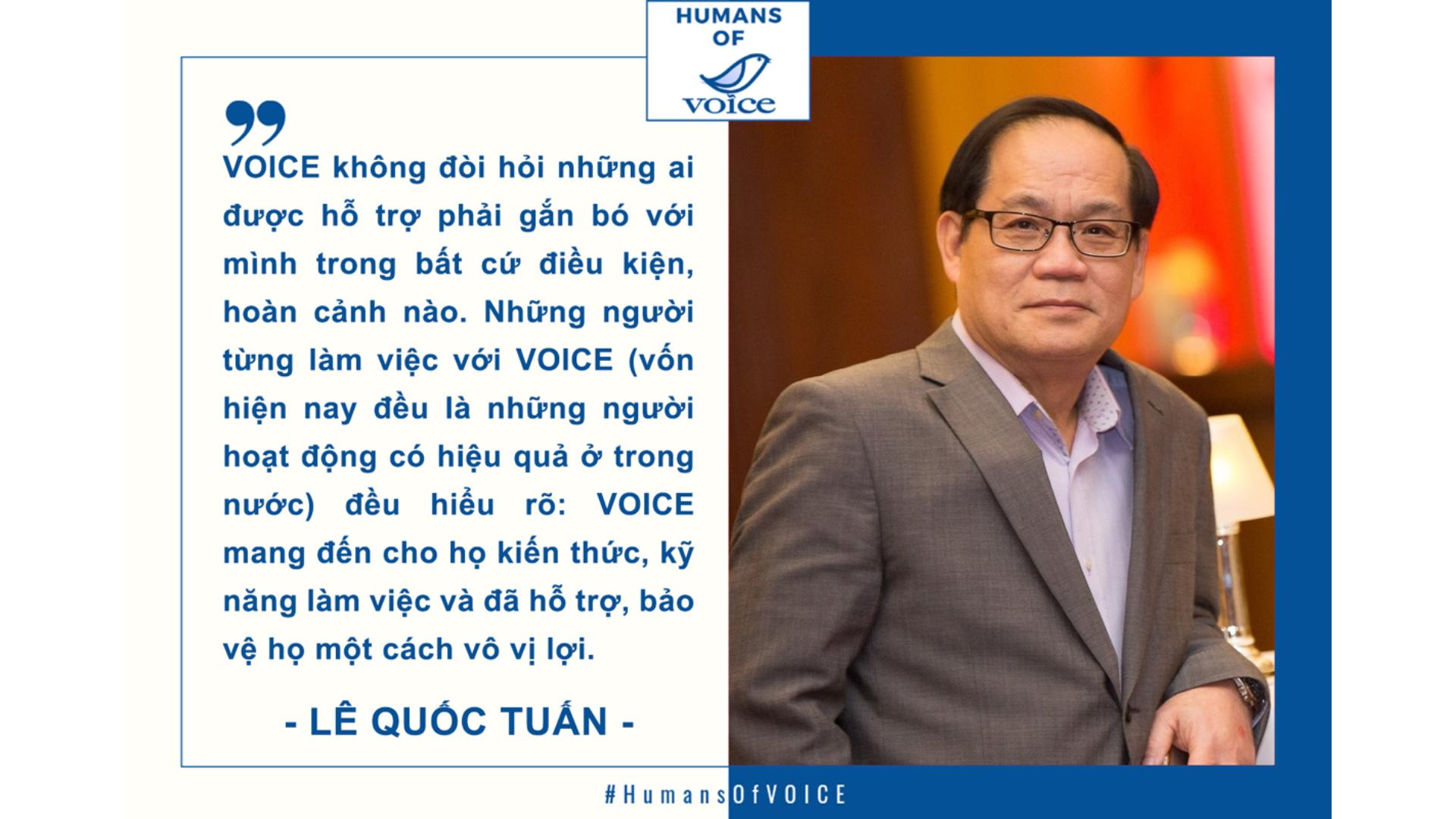 Humans of VOICE: Lê Quốc Tuấn