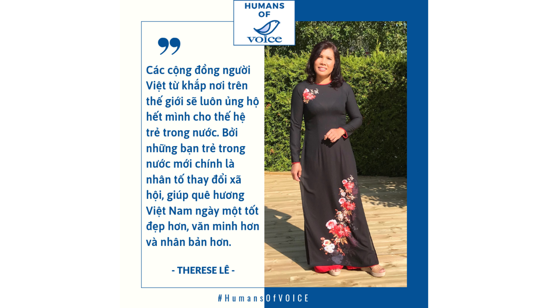 Humans of VOICE: Therese Lê