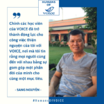 Humans of VOICE: Sang Nguyễn