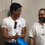 Ông Chito Gascon gặp gỡ và trò chuyện cùng các nhà hoạt động Việt Nam