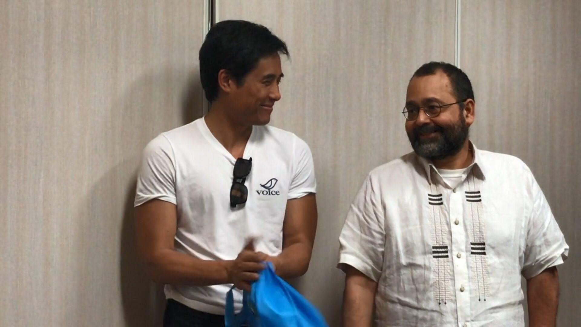 Chito Gascon inspires Vietnamese activists