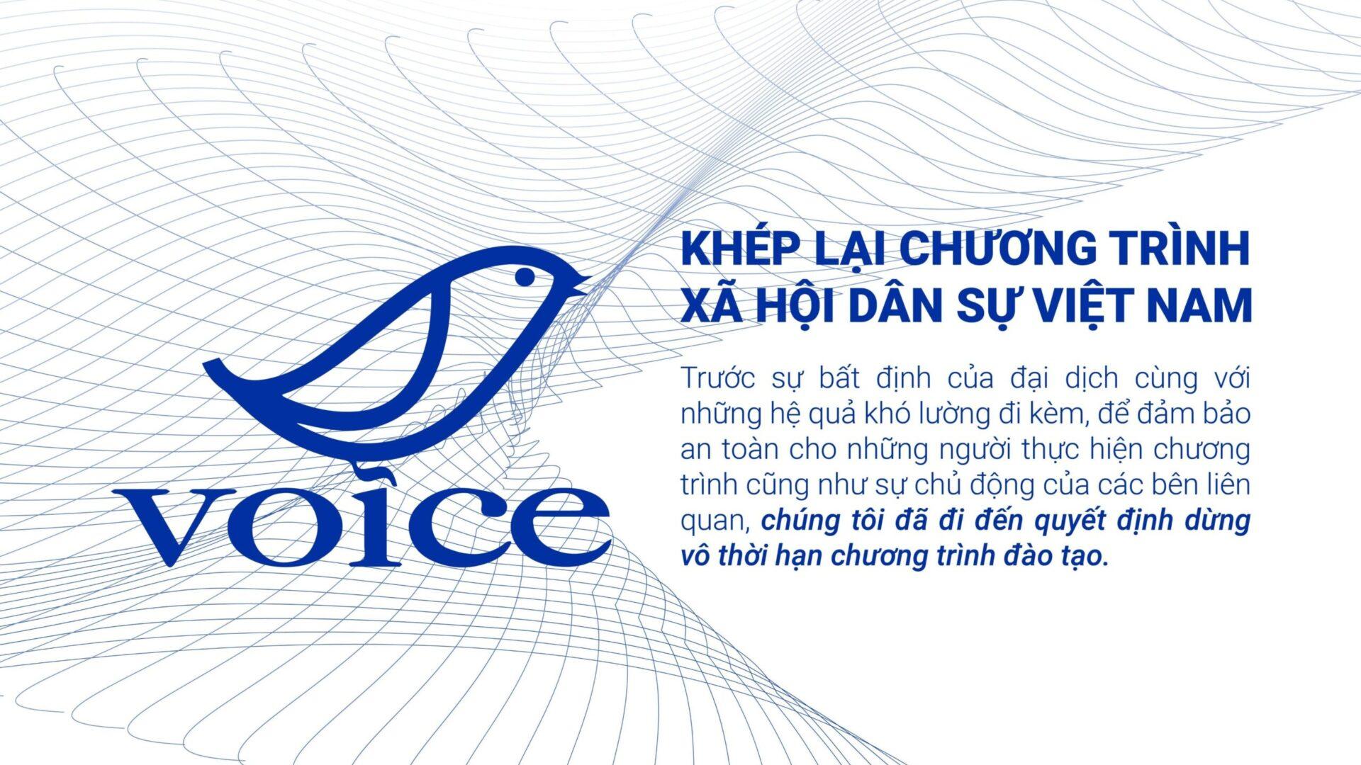 VOICE: Khép lại chương trình Xã hội Dân sự Việt Nam